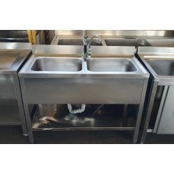 Lavello 2 vasche con doppio...