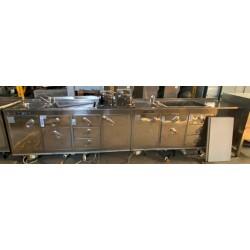 Banco bar refrigerato 65x400