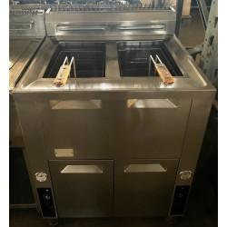 friggitrice 2 vasche...