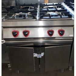 cucina 4 fuochi 80x90