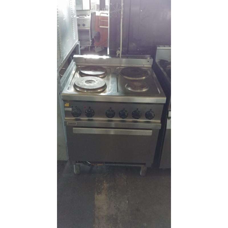 cucina 4 fuochi con forno gas zanussi