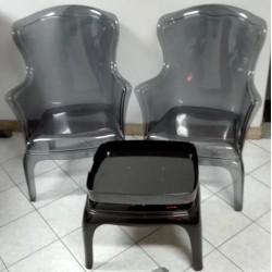 2 sedie PASHA 600 di desing...