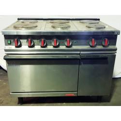 Cucina elettrica 6 piastre...